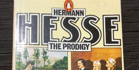 Front cover of The Prodigy by Hermann Hesse