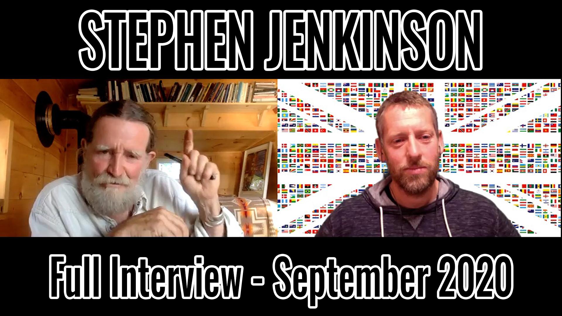 Stephen Jenkinson Interview