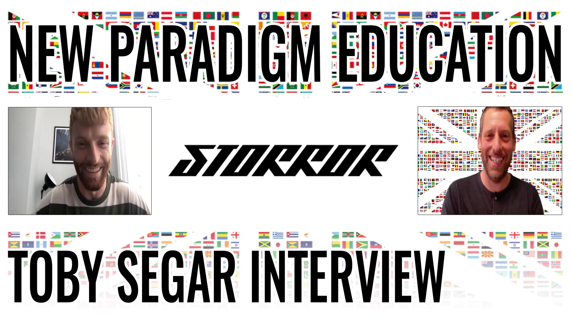 Toby Segar Interview